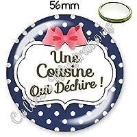 Magnet 56mm Ma meilleure amie je taime aimant frigo id/ée cadeau anniversaire no/ël divers th/èmes famille m/édical /école amour