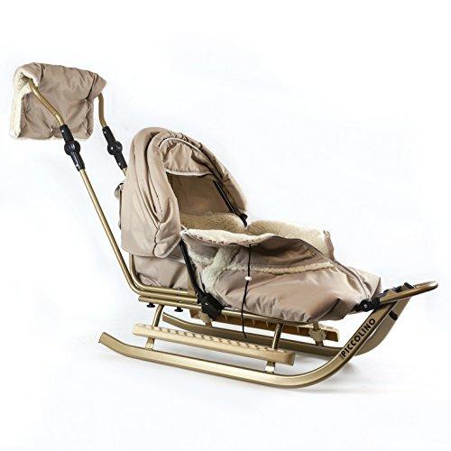Babyschlitten Piccolino Komfort (Beige)