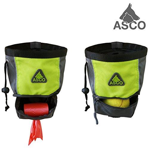 ASCO Futterbeutel für Hunde – Grün AC60TB - 3