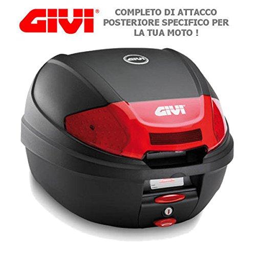 BAULETTO GIVI E300N2 + SR1143 PER HONDA SH 150 i ABS 2014