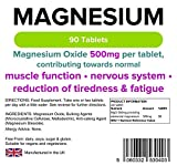 Magnesium Tabletten (90) (MgO 500mg) - 3