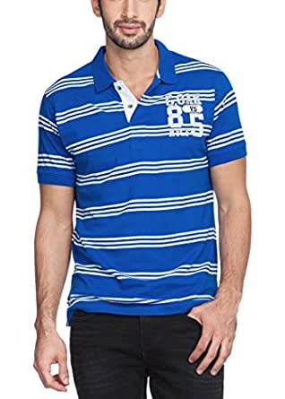 Zovi Men's Stripes Polo T-Shirt