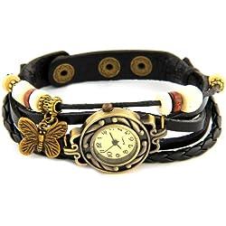 RE:CRON BS11 - Reloj para mujeres, correa de cuero