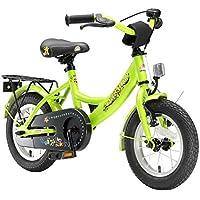 BIKESTAR® Original Premium Kinderfahrrad für sichere und sorgenfreie Spielfreude ab 3 Jahren ★ 12er Classic Edition ★ Brilliant Grün
