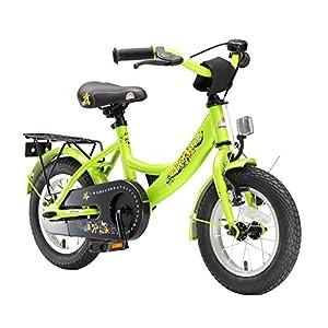 """BIKESTAR Bicicletta Bambini 3-5 Anni Bici Bambino Bambina 12 Pollici Freno a Pattino e Freno a retropedale 12"""" Classico…"""