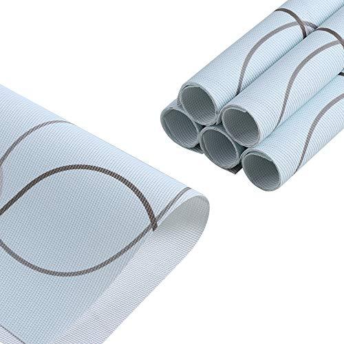 VEWEET 6 piezasa Juegos manteles Individuales PVC