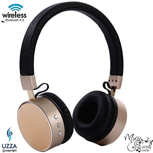 Wireless Bluetooth Headphones With Mic Uzza Noise Cancelling