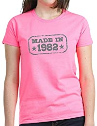 CafePress - Made In 1982 - Womens Cotton T-Shirt