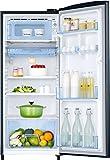 Samsung 192 L 4 Star Direct Cool Single Door Refrigerator(RR20N172YU8/HL/RR20N272YU8/NL, Blooming Saffron Blue, Inverter Compressor)