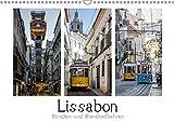 Lissabon - Straßen- & Standseilbahnen (Wandkalender 2019 DIN A3 quer): Straßenbahnen, Standseilbahnen und der Aufzug in Lissabon (Monatskalender, 14 Seiten ) (CALVENDO Orte)
