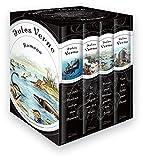 Jules Verne - Romane (Vier Bände im Schuber) - 20.000 Meilen unter den Meeren - In 80 Tagen um die Welt - Reise zum Mittelpunkt der Erde - Von der Erde zum Mond - Jules Verne