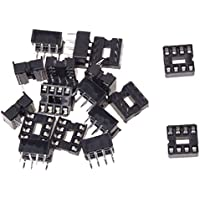 SODIAL (R) 20 x 8 Pin 2,54 mm Pitch IC-Sockel Typ Adapter