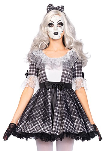Leg Avenue 85511 - Pretty Porcelain Doll Kostüm, Größe Small (EUR 36)