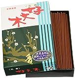 Incienso japonés (250 barritas, olor a flor del ciruelo)