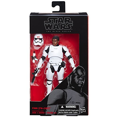 Star Wars Action Figure Force Awakening, Black Series, by Finn, 15 cm (FN-2187)