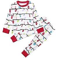 Moginp Weihnachten Familie Schlafanzug Set Baby Strampler Overall Kinder T-Shirt Tops Pants Frau Kleiden Familien... preisvergleich bei billige-tabletten.eu