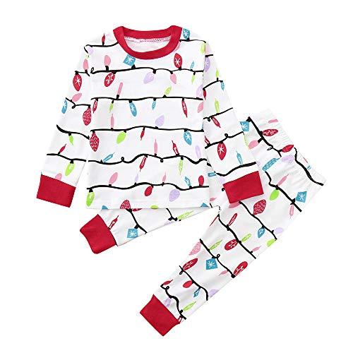 Togelei Kinder Weihnachten Kostüm Boy Girl T-Shirt Tops -