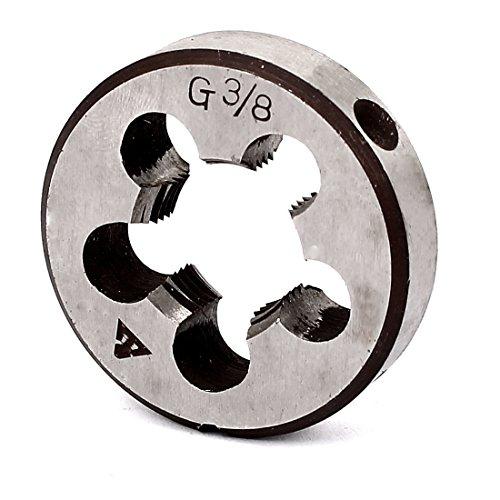 sourcingmap® 3/8BSP Gewinde 38mm 3,8cm Durchmesser rund Schneideisen DE de