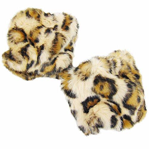 Armstulpen - Pulswärmer (Leopard) ()