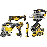 DEWALT DCK665P3T 18V 5Ah Carpenters 6Pc. Kit