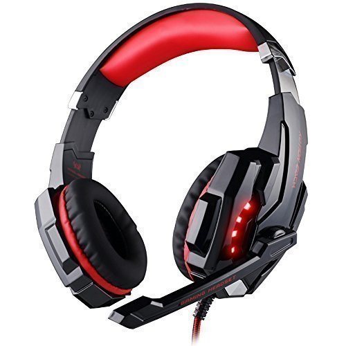 Neueste 7.1 Gaming Headset  KingTop EACH G9000 USB 7.1 Surround Stereo  Bässe Gaming Spielen 1e567d8f4e79