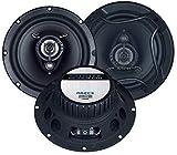 Autotek A62CX Lautsprecher 400 Watt 16,5cm Koax inkl Einbauset für VW Lupo 1998-2005