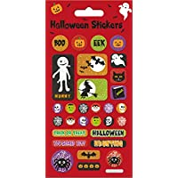 Paper Projects 01.70.04.047 Halloween Stickers, Red