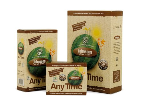 Johnsons 655365 Any Time Graines pour gazon 250 g