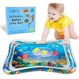 Tapis d'eau Gonflable de bébé,BPA PVC Anti-Fuite Gonflé Tummy Time Pour Gonfleur à la Main Tapis Eau développement bébé Amusant Centre de Jeu d'activité Ventre de pour Enfant