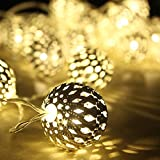 #5: Golden Ambiance Lighting - Metal Balls - Festival / Wedding / Gifting / Xmax / New Year - The perfect Gifting in 'Gift' Box!
