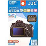 JJC LCP-60D Guard Film Digital Camera LCD Screen Protector For Canon EOS 60D