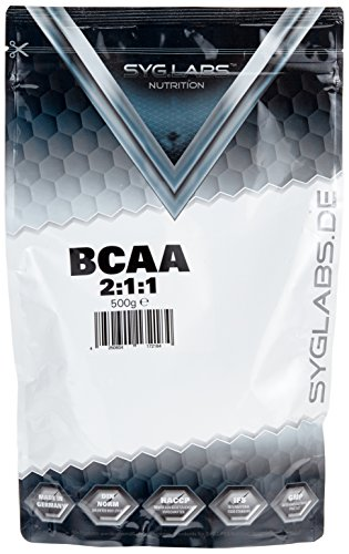 Syglabs Nutrition BCAA 2:1:1 Pulver , 1er Pack (1 x 500 g)