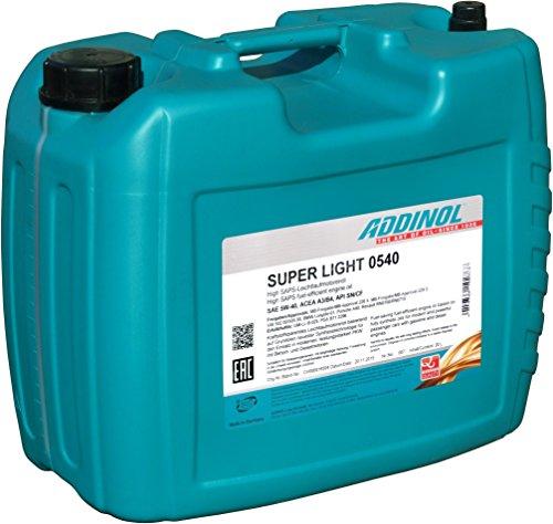 ADDINOL Super Light 0540 20 Liter