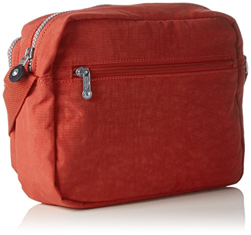 Kipling Deena, Borsa a Tracolla Donna Rosso (78G Red Rust)