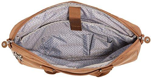 Kipling - KAITLYN - Computer Tasche - Metallic Blck - ( Schwarz) Dazz Tobacco C