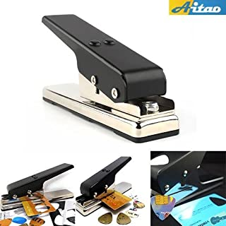 Econoled Guitar Plectrum Pick Press Plastic Card Hole Punch Picks Maker Cutter DIY Machine
