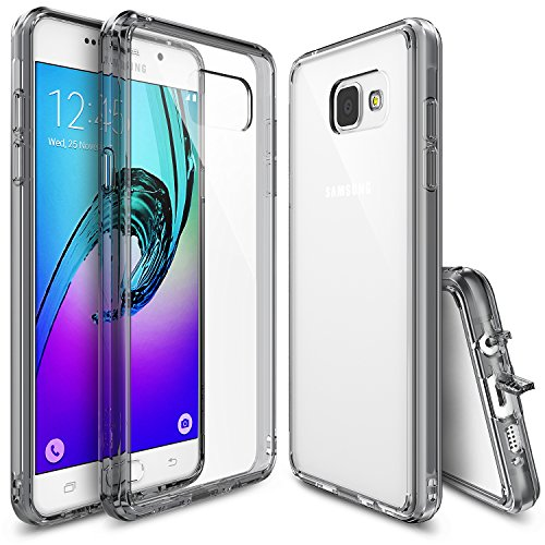 Cover per Samsung Galaxy A7 2016 in TPU (Smoke Black)