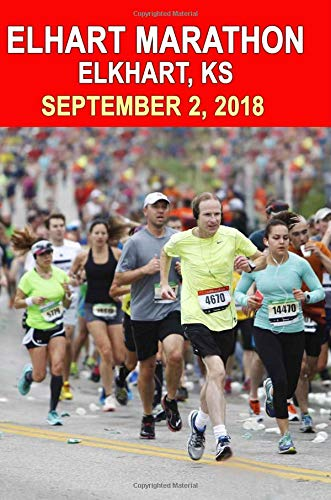 Elkhart Marathon: Runners Training Journal, Composition Notebook Diary, College Ruled, 150 pages por Marathon