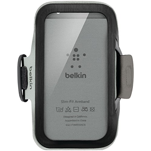Belkin Slim-Fit Armband (geeignet für Samsung Galaxy S4) schwarz - Belkin Armband