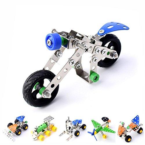 FAMILIZO Ensamble de metales Camión de juguete que desmontan Organización Building Blocks Juguetes