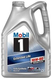 Mobil 1 151069 Huile moteur synthétique Extended Life 10W60 5 l