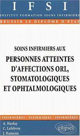 Soins infirmiers aux personnes atteintes d'affections ORL, stomatologiques et ophtalmologiques, n°20