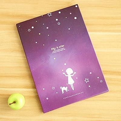 Koreanische portable Falt Kosmetikspiegel/Schreibtisch Spiegel/ Korea einfache Spiegel/ portable Queen-Size-Prinzessin Spiegel/ M?dchen im Spiegel