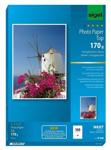 sigel-ip660-papier-photo-top-jet-dencre-brillant-170-g-a4-100-feuilles-extra-blanc