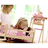Enlarge toy image: Pintoy Dolls Rocking Cradle -  preschool activity for young kids