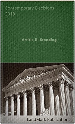 Article III Standing (English Edition)