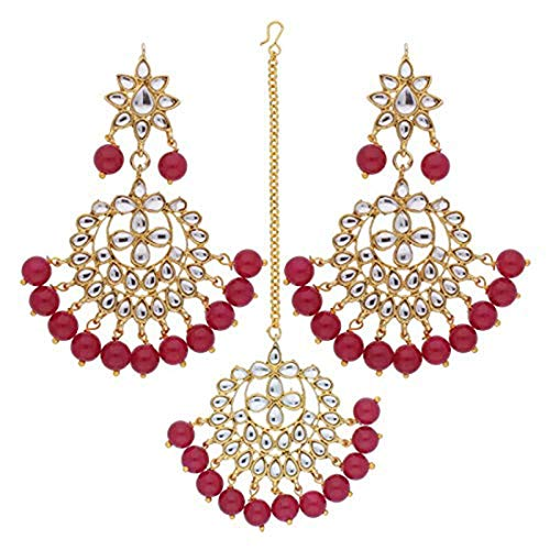 Jewelry Sets Humble Indian Line Pearls Pure Kundan Adorable Look Special Design Bollywood Trend Cz