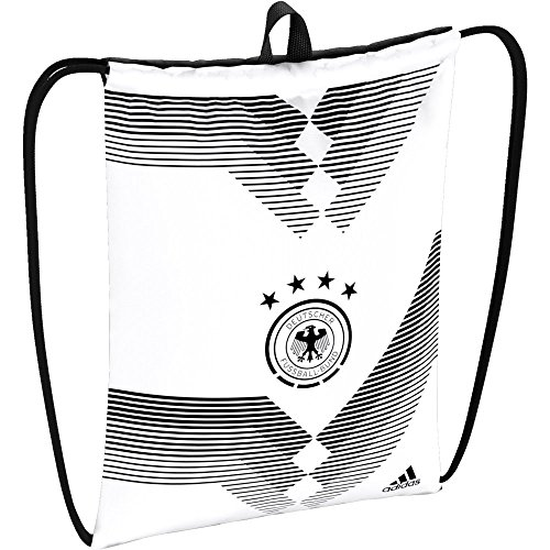 adidas Turnbeutel DFB Gymbag 2018 white/black One size