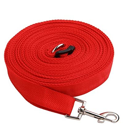 Katomi Dog Pet Puppy Training Obedience Lead Leash (1.8m*2cm, red) 1
