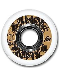4-Pack Ruedas para patines en línea o Skateboard Aggressive 57mm 1117549